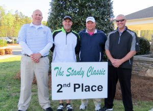 Second place team – First Citizens (left to right): Damon Rhodes, Phillip Speight, Walter Pegram, and Brett Speight.