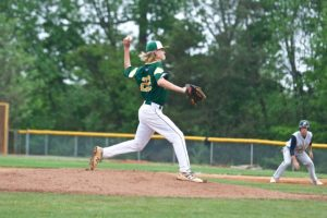 Indy's pitcher Nick Melton pitched the entire game for the Patriots Wednesday night at home against the Providence Panthers.  Indy won the game 3-2.