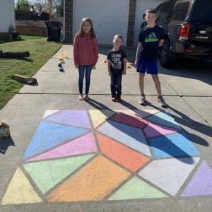 Dockens Family Driveway Art