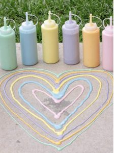 Puffy Sidewalk Chalk Paint