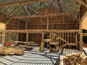 Barn Framing