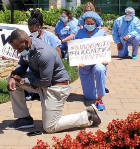 Novant Health Mint Hill Medical Center Take a Knee
