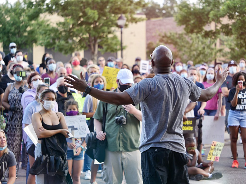 Mint Hill Racial Equality Protests June 10