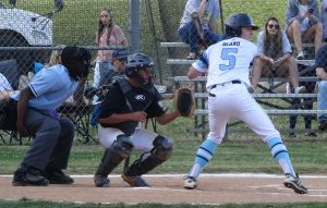 Jacob ready to drive a base hit up the middle