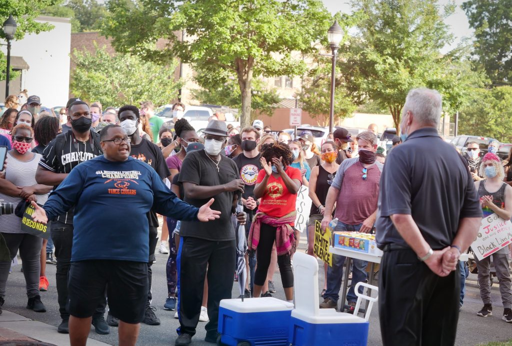 Mint Hill Racial Equality Protest June 10