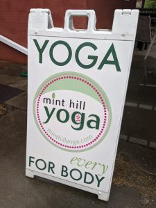 Bettie Shea, the owner of Mint Hill Yoga, is comfortable staying closed a little longer.