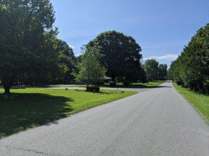 Doug Johnson works hard to keep the streets of his Mintwood Drive neighborhood pristine