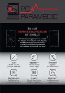 PC Paramedics screen protection