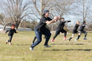 CORE Sports Performances also does classes outside in the parking lot or at Mint Hill Veterans park