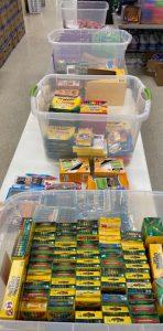 Supplies for Servants Hearts Back2School Program