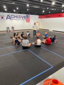 Achieve Martial Arts plans to provide opportunities for movement and enrichment