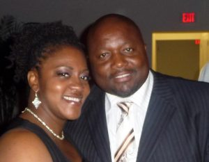 Instructor Ayana Dixon and her husband