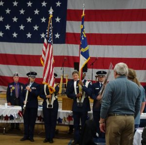 A past Veterans Day event.