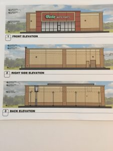 O'Reilly Auto Parts Store proposal.