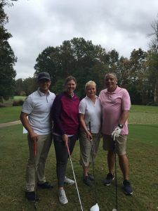 Tony Oxendine, TJ Oxendine, Kimberly Curlee, and Laura Ammarell.