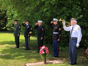 Local American Legion Ceremony.