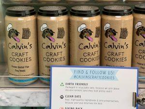Calvins Craft Cookies. Available at Woof n Hoof.