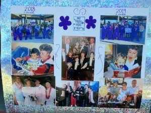 Memory board created to honor Wendy's late mother.