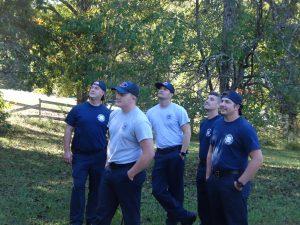 Mint Hill Firemen Observe.
