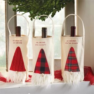 Gnome Wine Bags. Available at The Gift Workshop.