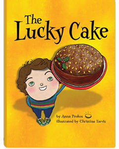 Book by Photo by Anna Prokos, The Lucky Cake