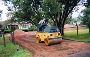 We'll handle your entire project from start to finish, including grading and preparation. Whether you have an old driveway that needs replacement, or nothing but bare dirt, We'll do it all.