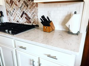 Kitchen cleaned by White Tulip Interiors