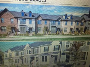 Proposed Townhomes.