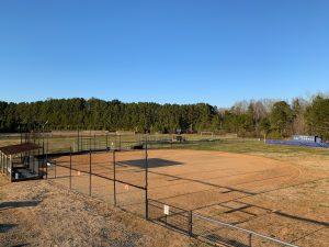 Panoramic View of New Softball Field.
