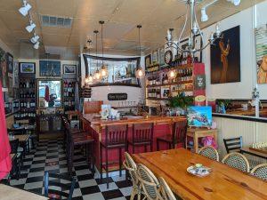 Interior of Irene Cafe