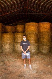 Director, Raeshib Aggerwhil, on location at Roberts Big Oak Farm. (Photo by Carmen Bartlett / @cbartlettphoto)