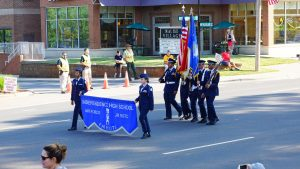 AFJROTC Cadets in Mint Hill.