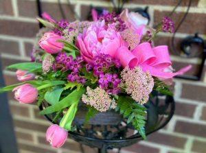 Flower arrangement by Abbey Rose Floral Artistry