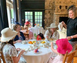 Tea at the Old Haigler Inn