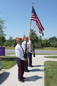 Marine Corps League Detachment 750 Color Guard.