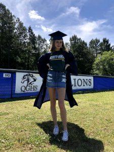 Queens Grant Graduate Quinn Smith