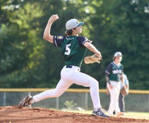 Adam Wilkerson got the start for Mint Hill.  Photo by Ron Morris