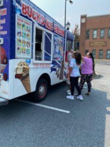 Ice cream was provided by Buck's Ice Cream