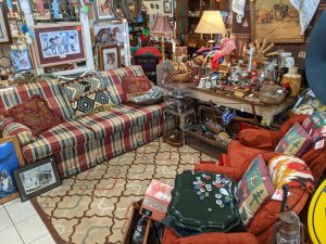 Rustic Root is an upscale consignment store with a huge variety of merchandise at different price points.