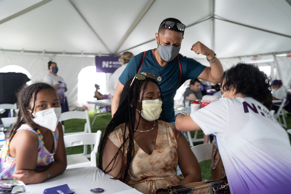 The Vaccination Tent