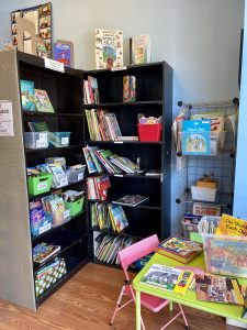 The Children's Corner of the Waxhaw Reading Room.