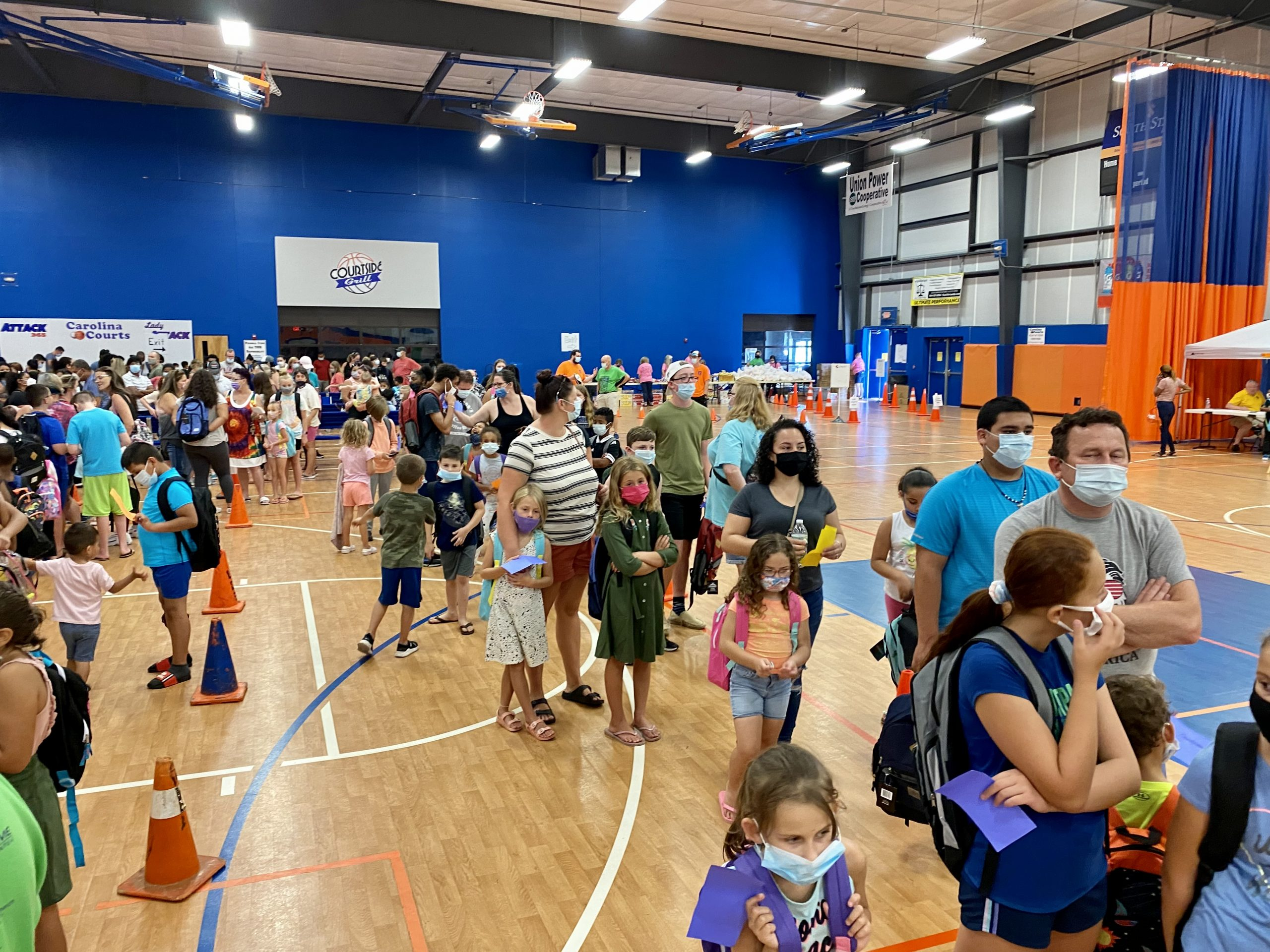 Pastor Ireland predicts that they will be able to provide between 3,500 to 4,000 children backpacks and shoes during 2021's Back 2 School Bash.
