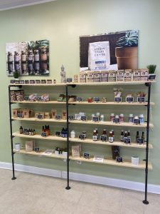 Customers have a variety of organically grown, locally sourced options to choose from at Carolina Hemp Company.