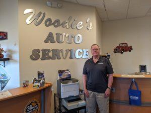 Owner Brad Woodie at Woodie's Indian Land location