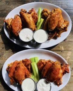 """You've got to try these """"twice-baked to perfection"""" wings at Mary O'Neill's Irish Pub!"""