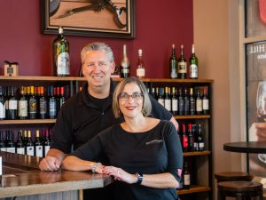 Michelle & Howard Hitch cock owners of Vintner's Hill