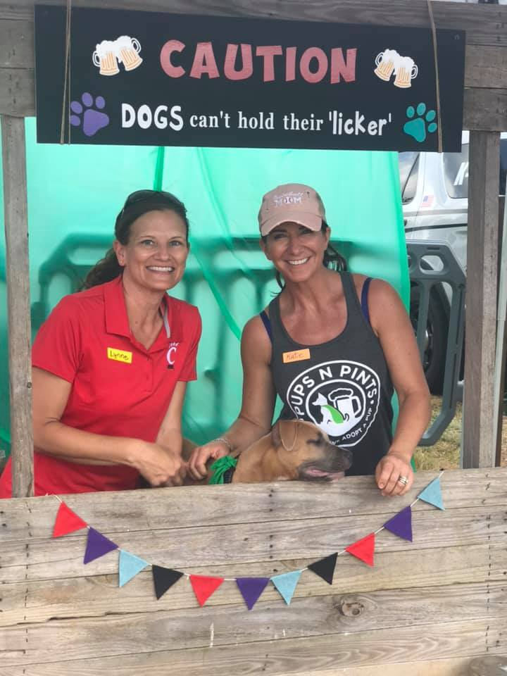 """Who is ready for a """"Licking Booth""""? Come on down to Pups N Pints on 9/25/2021 to get your licks in for a good cause!"""