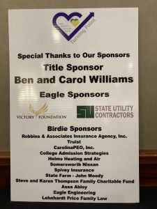 Sponsors - Thank you to our generous 2021 Annual Golf Tournament sponsors.